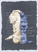 "<h5>Sacred Prostitute</h5><p>Gold leaf, watercolor and sand on Thai paper. 30"" x 22"".																																																																																																																							</p>"